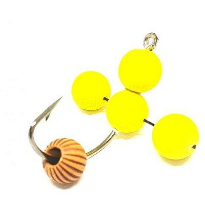 Isca Artificial Anteninha Falcucci Tradicional Amarela