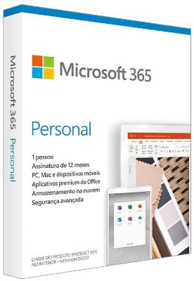 MICROSOTF OFFICE 365 PERSONAL + 1TB ONDDRIVE + 12 MESES ASSINATURA - OFICIAL
