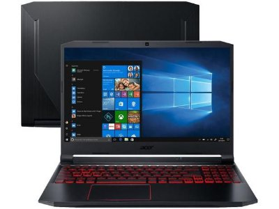 "Notebook Gamer Acer Nitro 5 Intel Core i5 16GB - 512GBSSD 15,6"" Full HD 144Hz NVIDIA GTX1650ti 4GB"