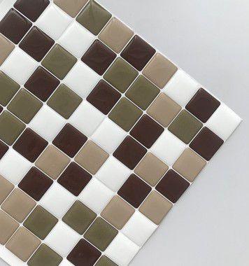 Pastilha Adesiva Resinada CHOCOLATE COM CANELA 28x28 cm