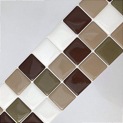 Pastilha Adesiva Resinada CHOCOLATE COM CANELA 28 x 9 cm