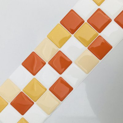 Pastilha Adesiva Resinada ENTARDECER 28 x 9 cm