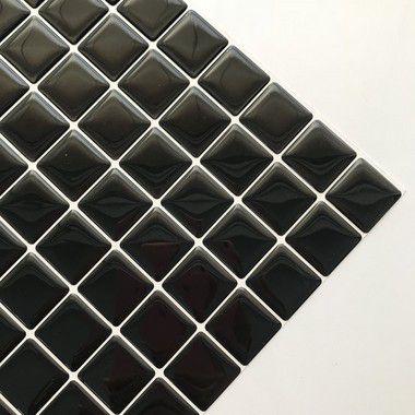 Pastilha Adesiva Resinada ASFALTO 28x28 cm