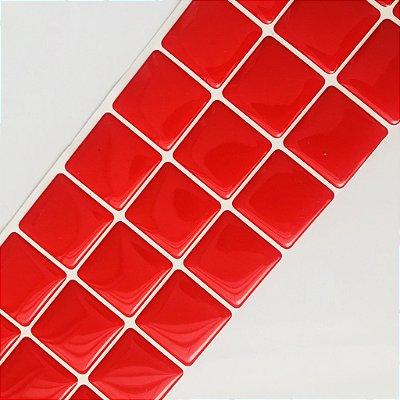 Pastilha Adesiva Resinada VERMELHO AMOR 28 x 9 cm