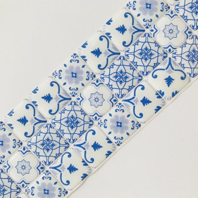 Pastilha Adesiva Resinada LISBOA 28 x 9 cm