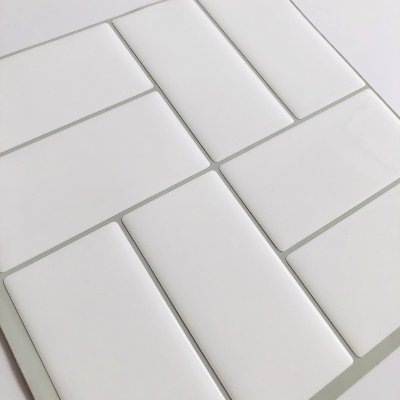 Azulejo Metrô Concept White