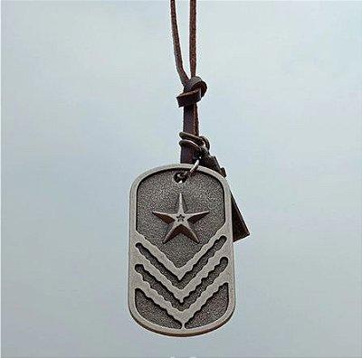 Colar Militar com Estrela