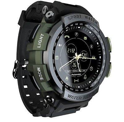 Smartwatch Militar Sport Preto 2.0