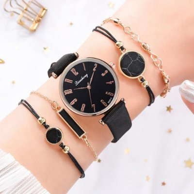 Relógio Elle Lux + 4 Pulseiras