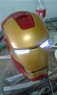 Capacete Homem de Ferro