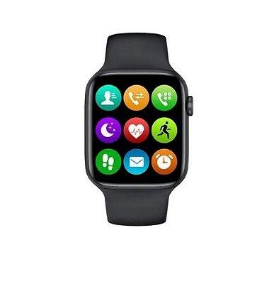 Relógio Smartwatch Inteligente Iwo 12 Lite Tela Infinita Ios E Android - TROCA PULSEIRA