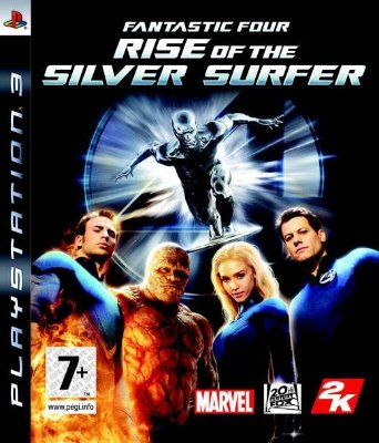 Fantastic Four Rise Of The Silver Surfer - PS3 Mídia Física Usado