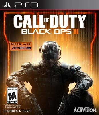 Call Of Duty Black OPS 3 - PS3 Mídia Física Novo Lacrado