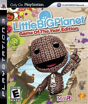 Little Big Planet - PS3 Mídia Física Usado