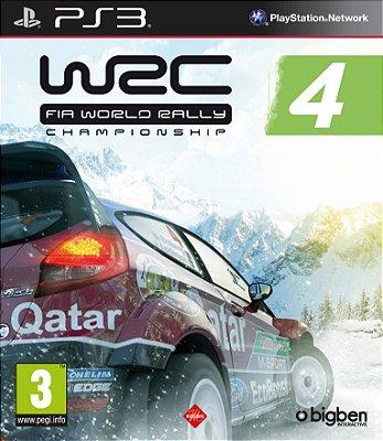 WRC Fia World Rally Championship 4 - PS3 Mídia Física Novo Lacrado