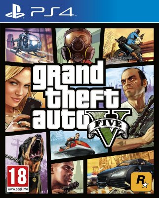 Gta Grand Theft Auto V - PS4 Mídia Física Novo Lacrado