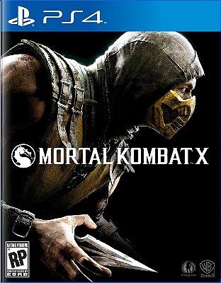 Mortal Kombat X - PS4 Mídia Física Usado