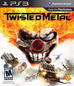 Twister Metal - PS3 Mídia Física Novo Lacrado
