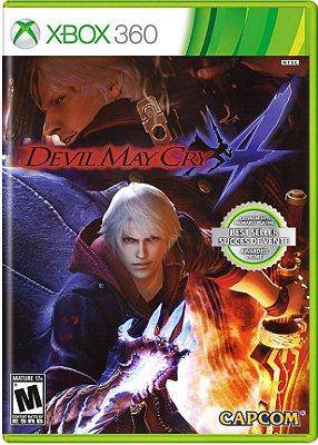 Devil May Cry 4 - Xbox 360 Mídia Física Usado