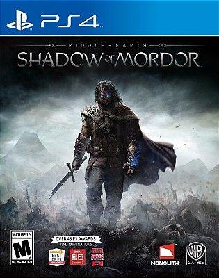 Sombras de Mordor - PS4 Mídia Física Novo Lacrado