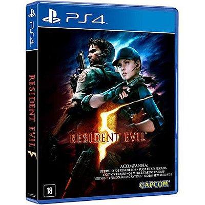 Resident Evil 5 - PS4 Mídia Física Novo Lacrado