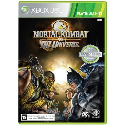 Mortal Kombat Vs Dc Universe - Xbox 360 Mídia Física Novo Lacrado