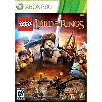 Lego Senhor dos Anéis Xbox 360 - Mídia Física - Novo - Lacrado