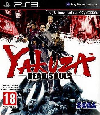 Yakuza Dead Souls PS3 - Mídia Física - Usado