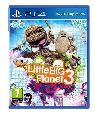Little Big Planet 3 PS3 Mídia Física Usado
