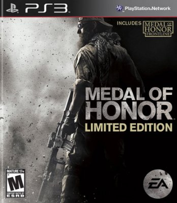 Medal of Honor Limited Edition - Ps3 - Mídia Física - Usado