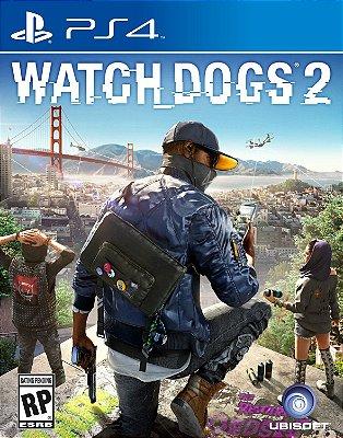 Watch Dogs 2 - PS4 Mídia Física Novo Lacrado
