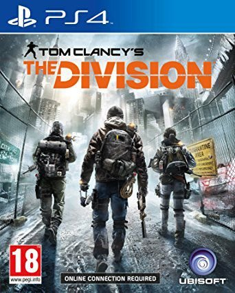 The Division Tom Clancy's - PS4 Mídia Física Novo Lacrado