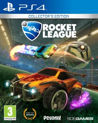 Rocket League - PS4 Mídia Física Novo Lacrado