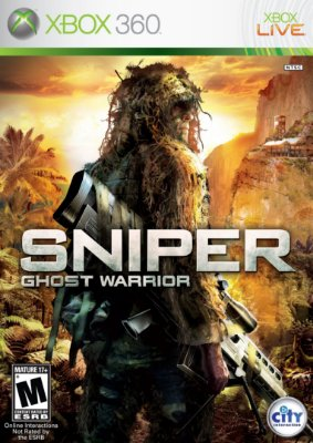 Sniper Ghost Warrior Xbox 360 Mídia Física Usado