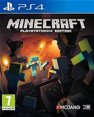 Minecraft - Ps4 Mídia Física Usado