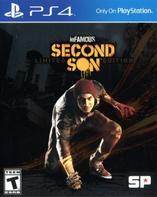 Infamous Second Son PS4 Mídia Física Usado