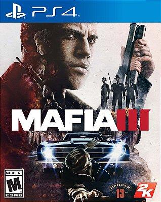 Mafia 3 PS4 Mídia Física Usado
