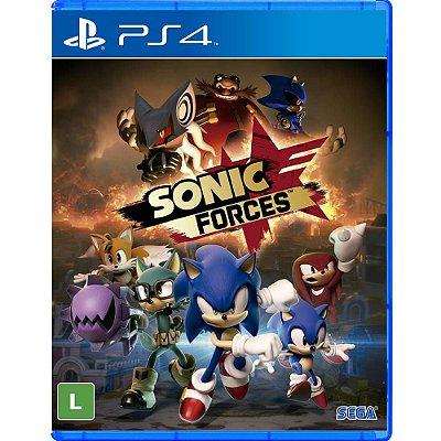 Sonic Forces - Ps4 Mídia Física Novo Lacrado