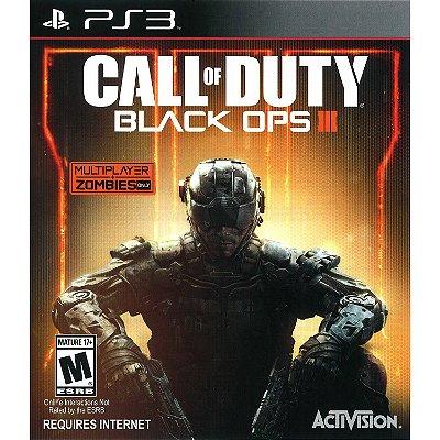 Call Of Duty Black OPS 3 - PS3 Mídia Física Usado