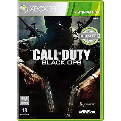 Call of Duty Black Ops Xbox 360 Mídia Física Usado