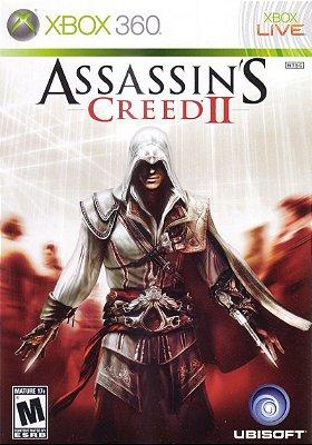 Assassins Creed II Xbox 360 Mídia Física Usado