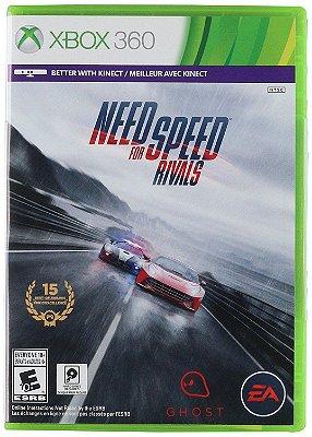 Need for Speed Rivals Xbox 360 Mídia Física Usado