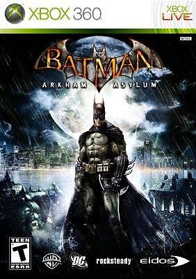 Batman Arkham Asylum Xbox 360 Mídia Física Usado