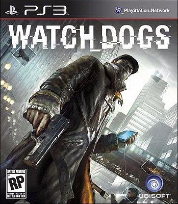 Watch Dogs Ps3 Mídia Física Usado