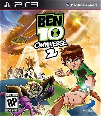 Ben 10 Omniverse 2 - PS3, Mídia Física Usado