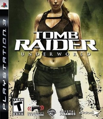 Tomb Raider Underworld - Ps3 Mídia Física Usado