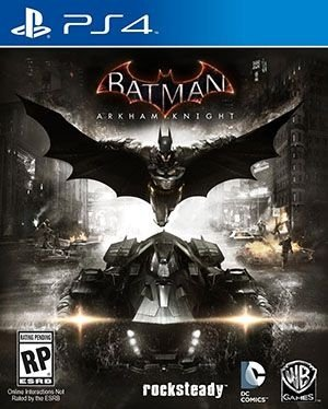 Batman Arkham Knight - PS4 Mídia Física Usado