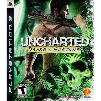 Uncharted Drakes Fortune - Ps3 Mídia Física Usado