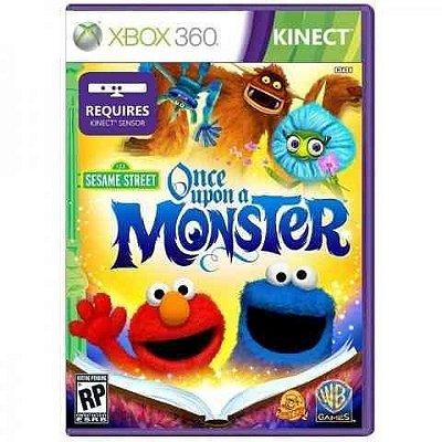 Vila Sesamo Era Uma Vez Um Monstro Xbox 360 Mídia Física Novo Lacrado