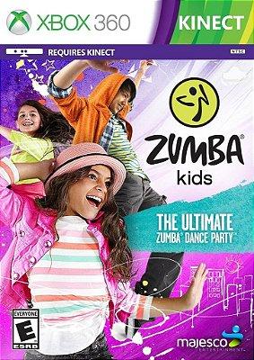 Zumba Kids - Xbox 360 Mídia Física Usado